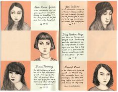 Sad Girls Issue 2 contributors by Rachel Levit Middle School Art, Art School, Sad Girl, Zine, Fine Art America, Writer, Typography, Blog, Doodle