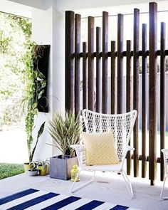 How awesome is this subtle privacy screen !! Totally inspired via Pintrest #homestolove