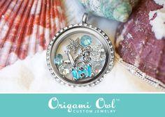 orgami owl necklace ideas | Origami Owl Summer Travel Beach Starfish