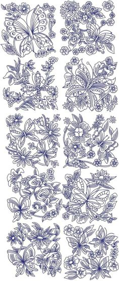 Flower Designs For Embroidery