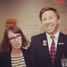 Last-minute Halloween couples costume: Liz Lemon and Kenneth From 30 Rock