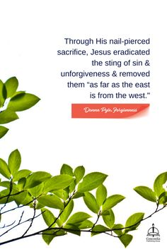 Jesus eradicated the sting of unforgiveness as far as the east is from the west. #ForgivenessStudy