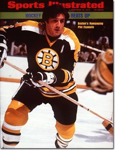 Today in 1969, Phil Esposito becomes 1st NHL Player to score 100 points in a season.