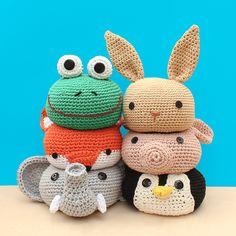 mjukstore - etsy - doorstopper - animal  #mjukstore #etsy #unseretsy #doorstopper #animalhead #decoration #homemade #home #interior #fox #kids #kidsroom #design #homedeco #style #trend #cute #mummy #parents #family #textiledesign #crochet #pig #bunny #rab