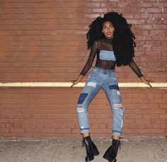 How to Cuff Your Jeans Like a Fashion Person Quann Sisters, Tk Wonder, Theme Song, My Hair, Fashion Forward, Style Me, Cute Outfits, Skinny Jeans, Style Inspiration