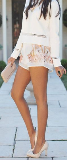 #street #style pastel floral print @wachabuy