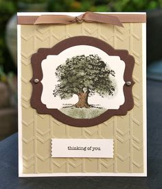 Krystal's Cards: My Fall Online Stampin' Up! Classes (maybe) ;) - Lovely As A Tree #stampinup #krystals_cards #lovelyasatree #handstamped #papercrafts #cardmaking #sendacard #stampsomething #thinkingofyou