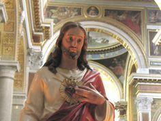 Io……, dono e consacro al Cuore adorabile di Gesù la mia persona e la mia vita, le mie azioni, pene e sofferenze per non più servirmi