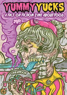 zombie zine pride prejustic art merchandise food horror creepy