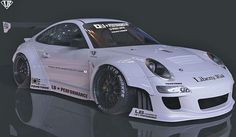 【M's】ポルシェ 911 997 LB☆WORKS ボディーキット(Ver.1)4点_画像1