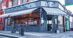 Melange restaurant is a project designed by In Arch in covers an area of 140 sqm and is located in London, UK Uk Retail, Design Furniture, Cafe Restaurant, Street View, Architecture, Retail Design, Visual Merchandising, Store Design, Spaces