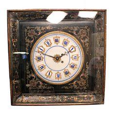Vintage Farmers Almanac Moon Dial Wood Planters Clock Usa