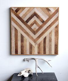 Wow. Ariel Alasko wood wall panels.