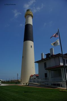 Absecon Lighthouse in Atlantic City, New Jersey