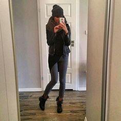 ❄️ #ootd #fashion #outfit #moda #look #cold #instafashion #instalook #grey #black #instagirl #polishgirl #fit #fitgirl #casual #cute #cool #swag #dope #fashionista #gangstawoman #mystyle #me #selfie #like #streetstyle
