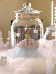 Winter Princess Birthday Party - Kara's Party Ideas - The Place for All Things Party Winter Birthday, Frozen Birthday Party, Frozen Party, Princess Birthday, Princess Party, 1st Birthday Parties, Girl Birthday, Princess Games, Birthday Crowns