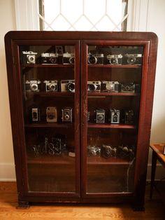 Vintage Camera Storage Decor Cameras Antique Old