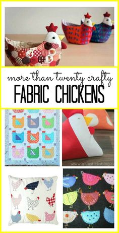 Since moving to the country we have seen our fair share of chickens- but these fabric chickens are more my style! With Easter and Spring just around the corner I have some time to try a few of these out! These are some of my favorite fabric chicken inspirations from Pinterest. Look around and let...Read More »