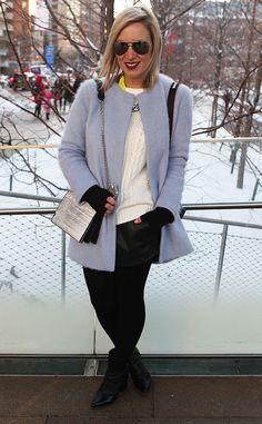 Nikki Mihton from New York Fashion Week Fall 2014 Street Style | E! Online