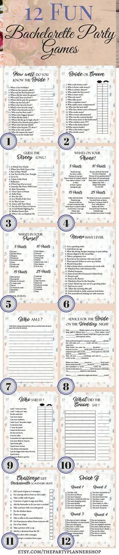 Polka Dots 12 Bachelorette Party Games, Bridal Shower Games, Hens Night Games, Polka Dots Theme Party, Polka Dots Wedding Game  12 Bachelorette Party Games, Printable Bachelorette Party Game, Bridal Shower Game, Hens Night Game  This printable bachelorette party or bridal shower game set is the perfect way to have a great time. From simple games to drinking games everybody can find something to enjoy. These bachelorette party games will set a good mood and guarantee a few interesting moment…