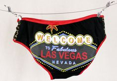 Viva Las Vegas Panties S handmade underwear diy xannabotx