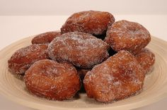 Banana Donuts (Bunelos Aga) - GUAM Family Recipe  http://www.sweetstacks.com/content/view/142/82/