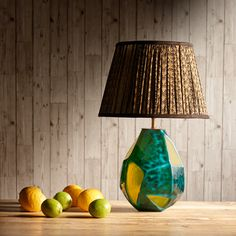 Verdura table lamp in blown glass, Pooky, £140