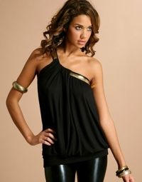 Ancient Greek Inspired fashion - one shoulder tops and dresses