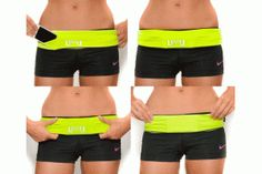 FlipBelt... $29 and holds an iphone with otterbox while running