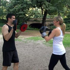 Fall in love with fitness with a great couples workout. #TRS2013 supports happy and healthy relationships!