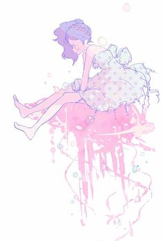 Princess Jellyfish I love the colors and everything about it.