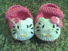 Margo sapatinhos de croche