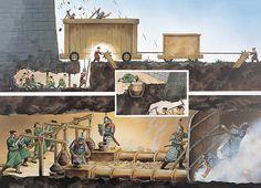 Wayne Reynolds - Labores de zapamina en el sitio de Kaifeng, China, 1126 dC.