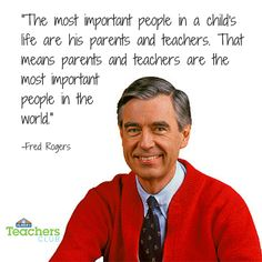 Mr. Rogers on Parents and Teachers