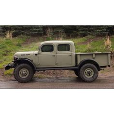 Dodge power wagon - suicide doors would be the first thing I'd mid.