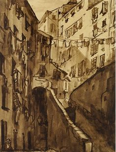 Emile Bernard, Houses in Genoa