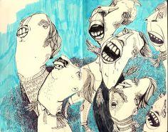 mehr mehr mehr!   by Diana Köhne Illustration   dianakoehne.de