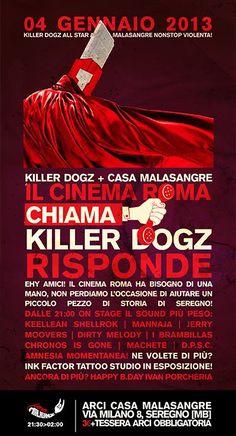 Il Cinema Roma chiama Killer Dogz risponde!