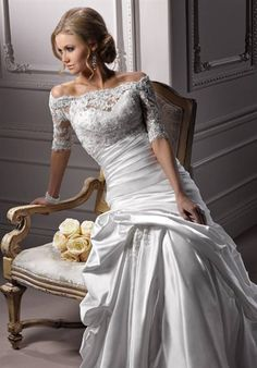 maggie sottero dress. love!
