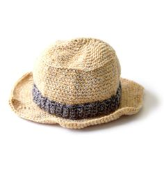 Kid's Sun Hat- one size. Could be made smaller with sport weight/3 ply yarn and smaller hook.