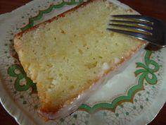 Lemon Yoghurt Cake recept | Smulweb.nl