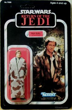 This was my ALL-TIME favorite figure!!   STAR WARS RETURN OF THE JEDI HAN SOLO ACTION FIGURE