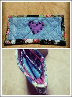 purse from blue jeans