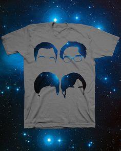 the big bang theory tshirt design