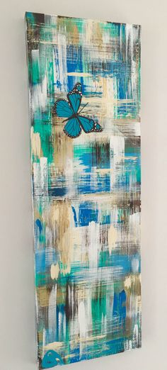 "SOLD Shabby Chic Butterfly"" ~Like my Facebook Artist Annette Spanski PAGE or check out all my art on INSTAGRAM @asartstylist"