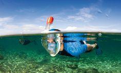Un masque de plongée / snorkeling révolutionnaire
