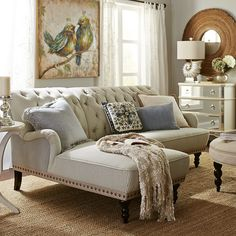 Love this Sectional! Chas Sectional with Left Arm Facing Chaise