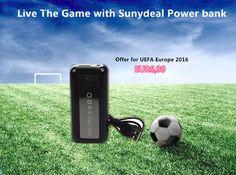 Sunydeal 5600 mAh Schwarz Portable Power Bank Ladegerät Externer Akku für iPhone 5S 5 4S Samsung Galaxy S3 S4 5V Tablet PCs Android / Windows Smartphones
