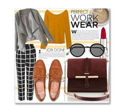 """""""GET THE JOB DONE..."""" by clovers-mind ❤ liked on Polyvore featuring Givenchy, Topshop, Zara, Acne Studios, WorkWear, ontrend and waystowear"""