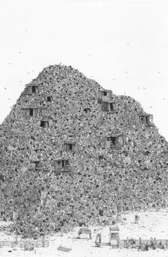 archisketchbook - architecture-sketchbook, a pool of architecture drawings, models and ideas - Ben Tolman Ben Tolman doesn't hate the suburbs....